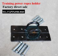 Wholesale Battle Rope Fixed Buckle Anchor Hanger Racks Suspension Ropes holder