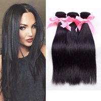 beautiful hair products - Rosa Hair Products pcsBrazilian Hair Straight A Unprocessed Mink Brazilian Straight Hair Extension Human Hair Weave Bundles Beautiful Star