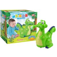 Wholesale 2016 hot selling Electronic Pet Small crocodile love bath funny Children electric toy With music lights baby toys Gifts for Kids