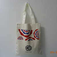 Wholesale 33 cm cotton canvas beach bag tote shopping bag high quality lowest price