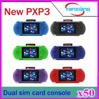 Wholesale 50pcs Hot Sale Handheld Game Console PXP3 B it inch Color Screen Game Player ZY PXP3