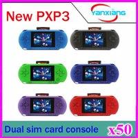 Wholesale 50pcs Hot Sale Handheld Game Console PXP3 B Color Screen Game Player ZY PXP3