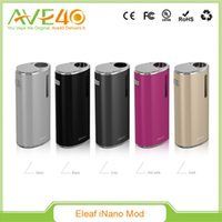 best metal products - Original New Product Eleaf iNano Battery Mod Built in mAh Capacity iNano Battery Best Match Eleaf iNano Atomizer DHL