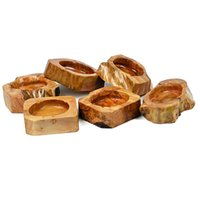 Wholesale Creative Natural Cunninghamia lanceolata Wood Ashtrays Personality Cenicero