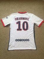 Wholesale 10 Zlatan Ibrahimovic psg away white jersey season football shirt