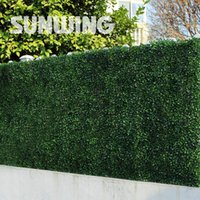 artificial stone panels - lants vs zombies Sythenic Ivy Fencing Mats Artificial Boxwood Hedge Panels Fresh PE Eco friendly Plastic Decorative Plant F