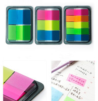 Wholesale Sticky Post It Notes Paper Diary Notebook Memo Pad Tab Notebook Office Supply