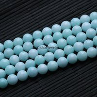 amazon materials - price burst loss imitation beads Amazon Amazonite color chalcedony jewelry material bag accessories