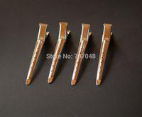 Wholesale 90pc super quality metal hair clips for hair dressing salon families DIYCrocodile Duckbill hair clips