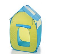Wholesale Kids Tents Play Play House Tent Portable Folding Red Twist Indoor and Outdoor Kid Playhouse Tent Easy to Setup Safe and Sturdy