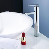 Wholesale Swan faucet cold and hot water basin faucet single hole Heightening bath faucet Kitchen faucet mixer tap