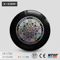 Wholesale X COM WFDF and USA Ultimate approved Professional Ultimate Frisbee gram Custom Flying Disc Frisbee for sale