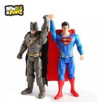 action league batman - 2016 batman vs superman anime Action Figures justice league toys The Avengers Captain America kids Toy ball gift Super Heroes PVC Figur