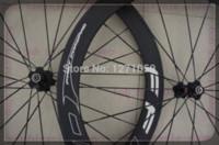 Wholesale black and white color ruedas carbono carretera c chinese carbon wheels road bike wheels price hub
