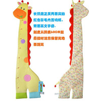 baby height ruler - Home Cartoon Animal Wall Stickers Height Ruler Art Nursery For Kids Baby Room Decor