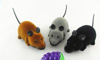 Wholesale 2016 new Remote control toy tricky simulation animal toy plush mouse whole new best gift toys