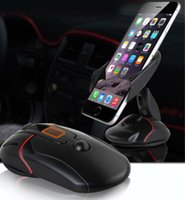 Wholesale New Coming Universal Windshield Suction Car Phone Holder One Hand Mobile Phone Car Holder Free DHL