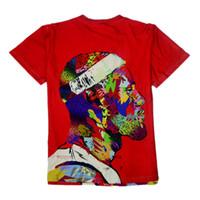 basketball player cartoon - MVP Player Lebron James T Shirts Men super basketball star sport cartoon Man T Shirt Short Sleeve Cotton Men s street Tops Tees