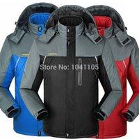 Wholesale Winter men jackets thermal jaqueta thick jacket coat Outdoor Sports ski camping climbing men jacket outwear Waterproof Windproof
