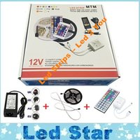 christmas decoration light - Led Strip Light RGB M SMD Led Waterproof IP65 Key Controller A Power Supply With EU AU US UK Plug Christmas Gifts