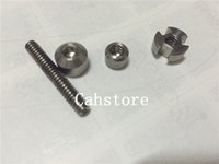 Wholesale New G2 TITANIUM NAIL for vapor glass bong water pipe mm MM and mm Grade Titanium Nail