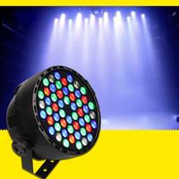 auto dim - DMX Led Par w RGB LED Stage Par Light Wash Dimming Strobe Lighting Effect Lights for Disco DJ Party Show