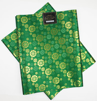 Wholesale SL Hot selling African sego headties Gele amp Wrapper set High Quality Many Colors Available NIGERIA GREEN