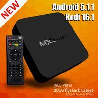 achat en gros de films quad-RK3229 MXQ 4K Android TV Box Quad Core Kodi Tv Box soutien 2.4GHz Wifi Live TV Movie Vidéo Streaming Media Player
