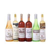 Wholesale 6Pcs Colorful Wine Bottles Dollhouse Miniature Scale Classic Toys for Kids Scale Models