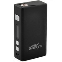 Wholesale Original Kamry W Variable Wattage Mini Box Mod VV VW Mod Temperature Control Mod BLACK color