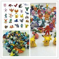 Wholesale Pocket Monster Action Figures Toys Poke Mon Go Pokémon Finger Dolls Pikachu Charmander Valor Cartoon Games Mini Toy Model Kids Gift JF