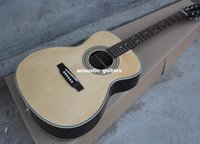 Wholesale price New Hot Sale OEM Acoustic Guitar with Red Pearl Pickguard Picea Asperata Body Chrome Hardwares Offer Customized