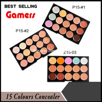 Wholesale Professional Colours Facial Concealer Cream Foundation Makeup Camouflage Cosmetic Concealer Palette for Salon Wedding Party types