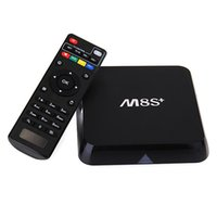android boxs - 8PCS M8S M8S Plus Android TV Box KODI Amlogic S812 Quad Core G G Wifi GB GB H OTT TV Boxs HEVC Gigabit Lan Bluetooth4