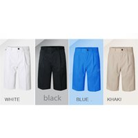 Wholesale PGM Men Golf Shorts Summer Quick Dry Sport Knee Length Shorts for Men Breathable Male Golf Shorts Plus Size Clothing