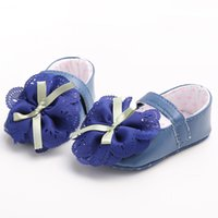 big plaid fabric - Fashion Big Flowers Newborn Baby Shoes Glam Butterfly Knot Baby Girls Shoes Non slip Soft Sole First Walkers Factory Price