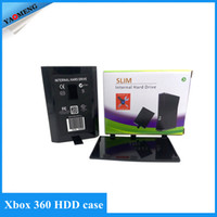Wholesale free xbox hdd case hard disk drive case for xbox360 slim hdd shell housing