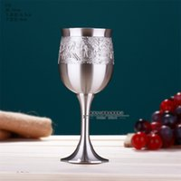 airs thailand - Thailand Oriental tin high end air quality G3L goblet printed logo glasses cups coffee cup drinking cup