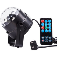 Wholesale Party Lights Disco Ball w Led Strobe Stage Halloween Christmas Rgb Led Par Light Lighting with Remote Control for DJ Bar Xmas