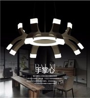 Wholesale Personality Modern Led Pendant Lights Lamp For Living Dining Room Restaurant AC V Lustres De Sala Lighting Light Fixtures