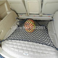 Wholesale Auto Trunk Storage Net Universal Elastic Nylon Car Trunk Storage Mesh For Audi For Bentley For BMW M12652