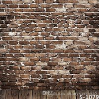 baby gallery - Brick Wall Wallpaper X7ft Children Baby Wedding Photography Vinyl Backgrounds for Photo Studio Gallery Backdrops