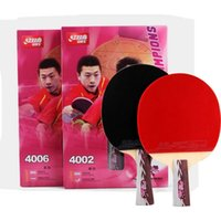 best end tables - High end Best Quality Table Tennis Amateurs Wooden Handle Grip to Table Tennis Racket Shake Hand Pingpong Racket Paddle DHS Star