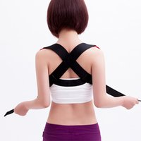 Wholesale jorzilano Unisex Men Women s Posture Back Brace Support Belt Posture Corrector Correction Belt One Size Adjustable