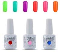 Wholesale 100Pcs New Harmony Gelish Nail Polish Soak Off UV Gel Nail Polish Fashion Colors Available