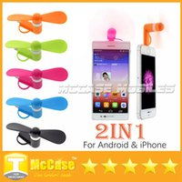 Wholesale Cute Best Price in Mini Portable Micro USB Fans for iPhone iPad For Samsung Android Smartphones
