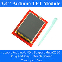 arduino display screen - Free Touch Pen LCD Display Module TFT inch TFT LCD Touch screen for Arduino UNO R3 Demoboard Mega2560 UPnP