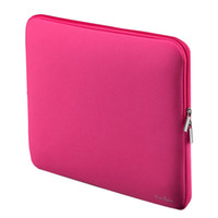 Wholesale Portable Laptop Bag Zipper Soft Sleeve Design Laptop Case for inch quot Ultrabook Laptop Notebook Color for Macbook Ipad PRO