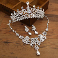 Wholesale Rhinestones Crystals Bridal Tiaras Crowns Wedding Jewelry Girls Evening Prom Homecoming Party Shining Tiaras Hair Accessories bridal je