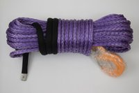 atv trailer kits - Purple quot ft Winch Rope for Atv Winch Accessary Warn Winch Cable for Trailers ATV Winch Kit